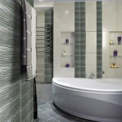azulejo de vidrio para la cocina y el cuarto de baño Vector Argent