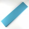 Platte aus Kunstleder Wand fliesen leder pan-sim-15x60-turq