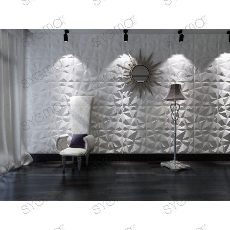 panneau decoration murale 1m2 3d pan 3d diam sygma group. Black Bedroom Furniture Sets. Home Design Ideas