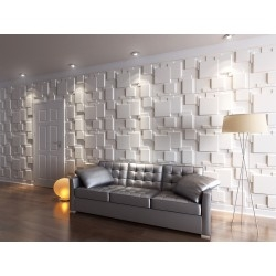 panneau mural 3d panneaux muraux relief sygma group. Black Bedroom Furniture Sets. Home Design Ideas