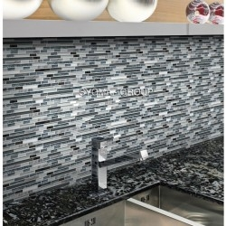 glass tile for kitchen wall mv-svelta