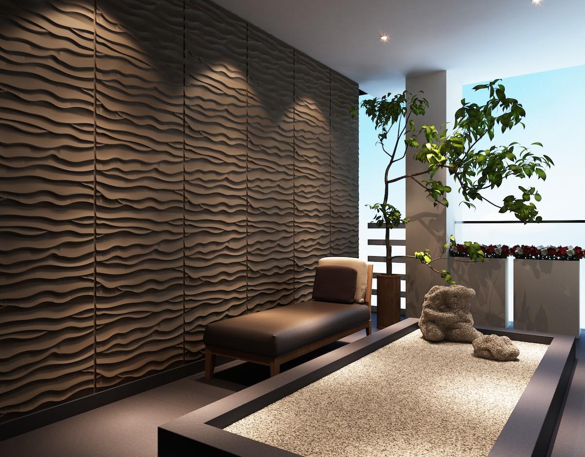 Panel muur decoratie d m pan d strand sygma group