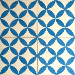 cimento de verdade azulejo para banheiro e cozinha SAMPA-azul