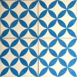 true tile cement for bathroom and kitchen SAMPA-blue