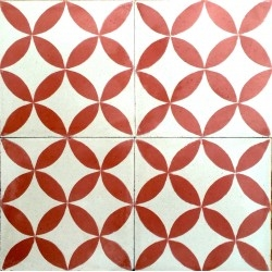 cement tiles for floor and wall sampa-rouge
