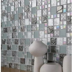 Mosaique pour mur de cuisine et mur salle de bain Lugano