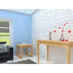 3d wall panel 1sqm pan-3d-maze