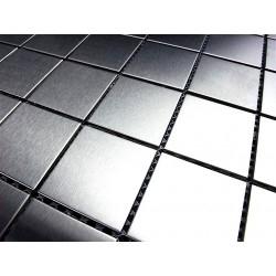 campione mosaico di acciaio per doccia bagno regular 30