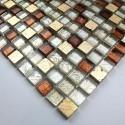 Mosaique en verre et pierre Otika