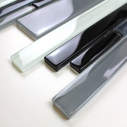 Mosaico de amostra e modelo de telha de vidro mv-filio