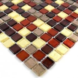 Mosaico de amostra e modelo de telha de vidro mv-tuno