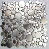mosaico de aço inoxidável, paredes e pavimentos, chuveiro e banheiro Focus