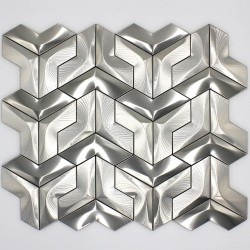 wall mosaic stainless steel tile Douma