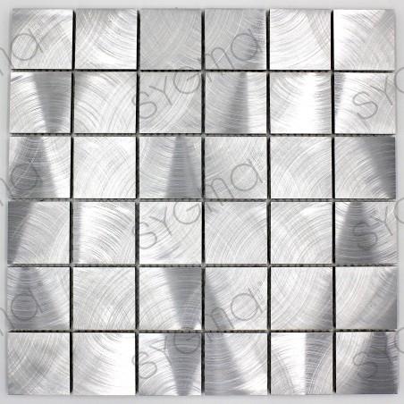 As projecções do mosaico de cozinha de alumínio ma-alu48
