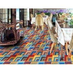 patchwork carrelage aspect carreau en ciment 1m2 karat
