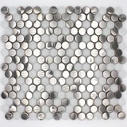 mosaique carrelage inox pour sol et mur douche et salledebain mi-mul-rou