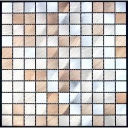 mosaico alluminio spazzolato metallo cucina ma-alu25-mar