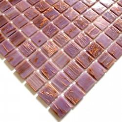 echantillon mosaique pate de verre sol et mur mv-vitro-rose