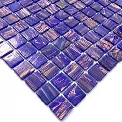 muestra suelo y pared mosaico azulejo de vidrio mv-vitro-violet