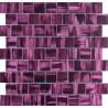 piastrelle di vetro bagno in mosaico e cucina drio-violet