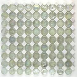 weiße Fliese Mosaikboden und wand Badezimmer mvp-icing