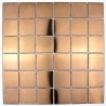 steel tile copper color for kitchen wall reg48-cuivre