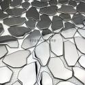 Edelstahl Mosaikfliesen Boden-und Wand Dusche und Bad mi-gal