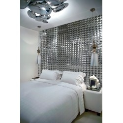 3d tiles of metal wall tile model RAMSES