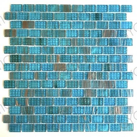 badezimmerfliese blaues mosaik für wand und boden pdv-kameko