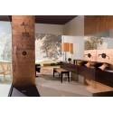 carrelage mural en verre colore cuivre cuisine ou salle de bain  Ankara Cuivre