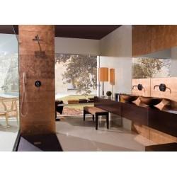 azulejo de pared de vidrio coloreado cobre cocina o baño Ankara Cuivre
