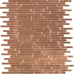 mirror copper wall tile for kitchen and bathroom mv-henrik-cuivre