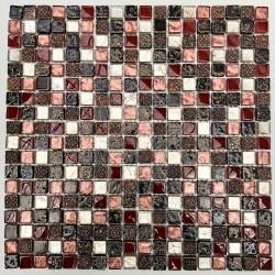 piastrelle di vetro mosaico e pietra mvp-lava