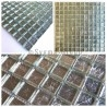 sample mosaic glass bathroom and shower hedra argent