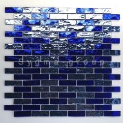mosaico para parede de banheiro e cozinha modelo LUMINOSA BLEU