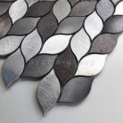 aluminium mozaïektegel voor keuken of badkamer model MOOD