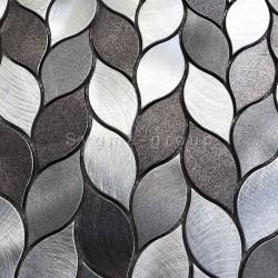 mosaico em alumínio para cozinha ou banheiro modelo MOOD