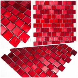 mosaic tile samples for bathroom and kitchen wall drio rouge