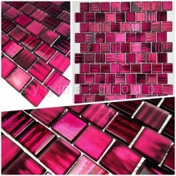 mosaic and tile samples for bathroom and kitchen wall drio violet