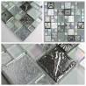 echantillon de mosaique et carrelage en verre modele Lugano