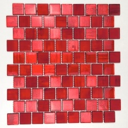 tile mosaic glass bathroom and kitchen drio-rouge