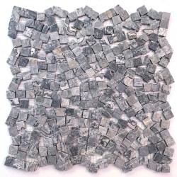 Marmeren mozaïek vloer of wandtegels SULTAN GRIS