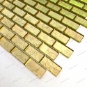 piastrella mosaico in vetro foglia oro per muro TESSA OR