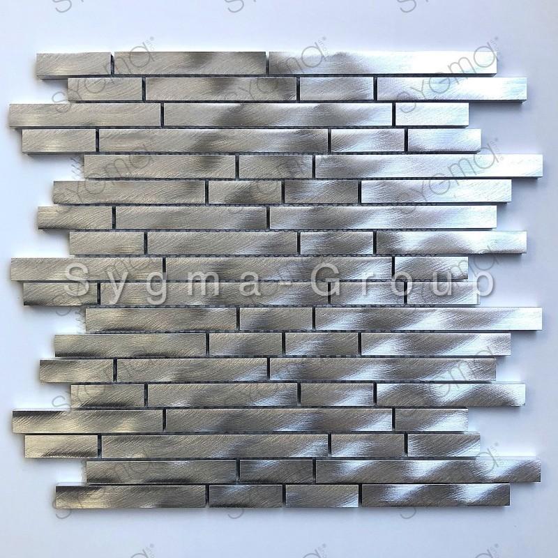 Metalen aluminium tegel voor keukenwanden Zelki