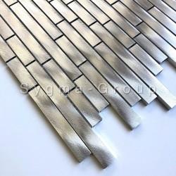 Piastrelle metalliche in alluminio per pareti di cucina Zelki