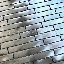 Metal aluminium tile mosaic for backsplash kitchen walls Zelki