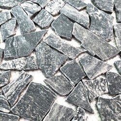 Marble mosaic tiles for shower floors and walls Oria Gris