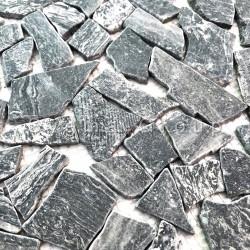 Pavimento o rivestimento in marmo a mosaico Oria Gris