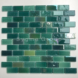 Wall tiles for backsplash kitchen and bathroom Kalindra Vert