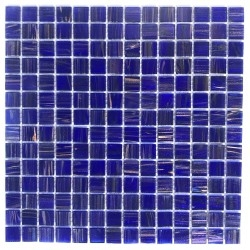 Glass mosaic for shower...